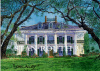 Vacherie,Louisiana art print-Oak Alley Plantation